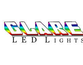 nº 21 pour Design a Logo for Glare LED Lights par andreeagh90