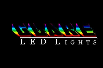 #22 for Design a Logo for Glare LED Lights by andreeagh90