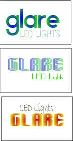 #26 for Design a Logo for Glare LED Lights by Loresita