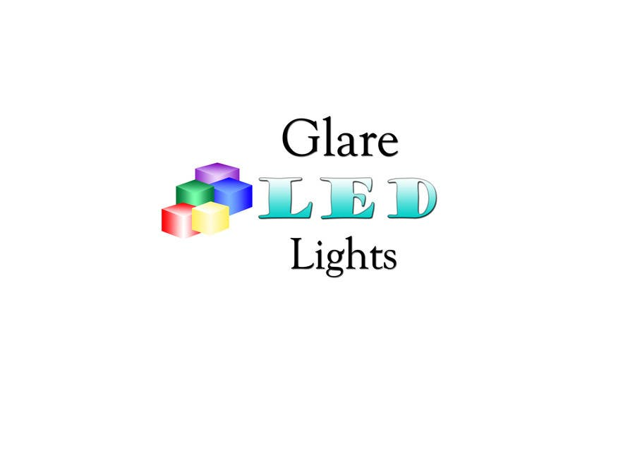 #12 for Design a Logo for Glare LED Lights by IulianaLu