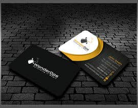 #26 para Design some Business Cards for WonderOps por kreativedhir