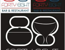 Nro 295 kilpailuun Design a Logo 88FortyEight Bar and Restaurant käyttäjältä colognesabo