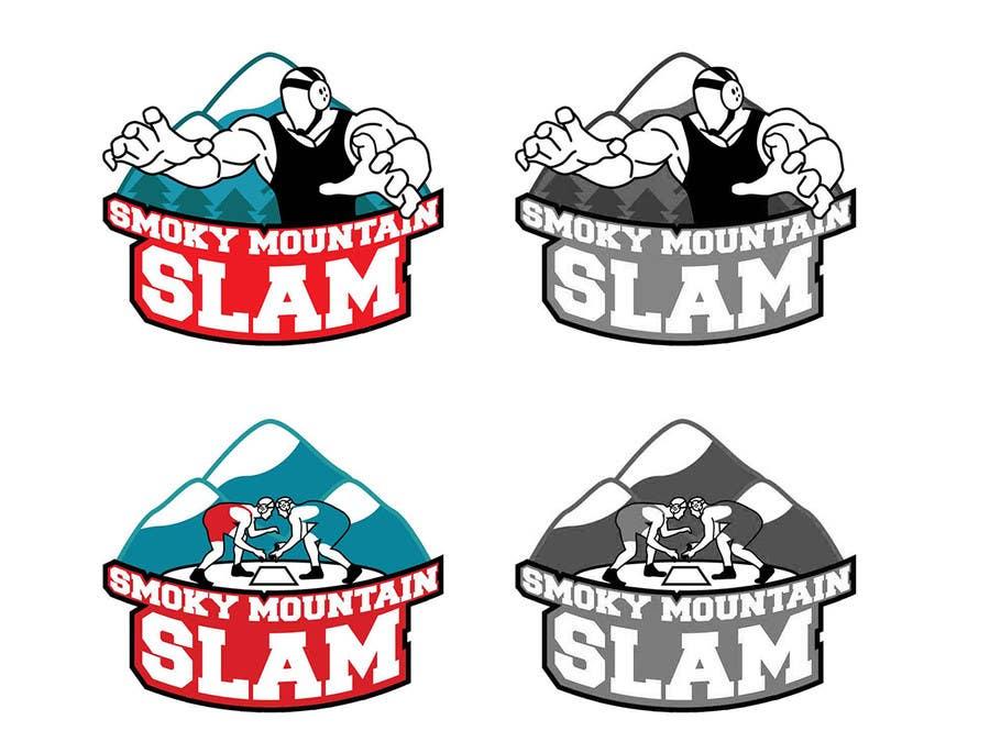 Kilpailutyö #12 kilpailussa Design a Logo for Smoky Mountain Slam - Event Artwork