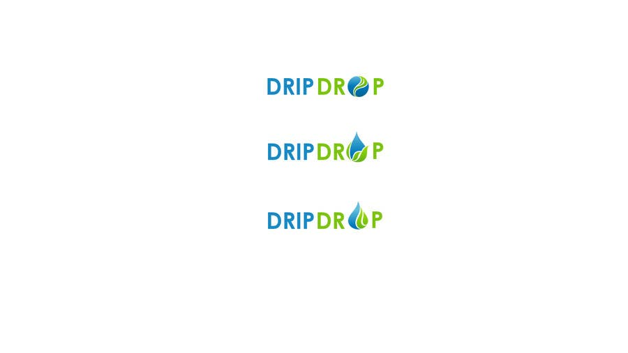 Kilpailutyö #61 kilpailussa Design a Logo for DRIP DROP