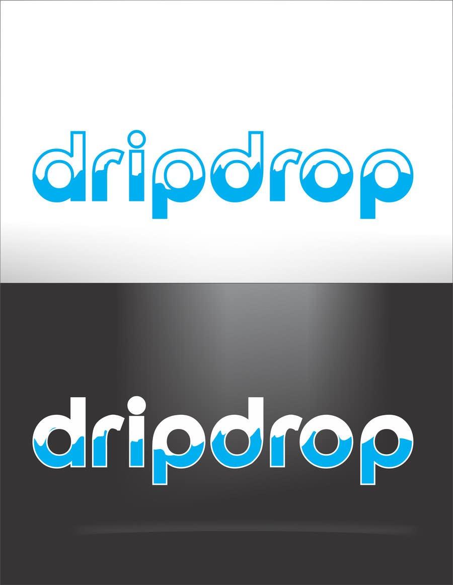 Kilpailutyö #152 kilpailussa Design a Logo for DRIP DROP