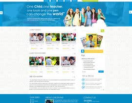 #48 for Design a Website Mockup for educational online magazine for children by MagicalDesigner