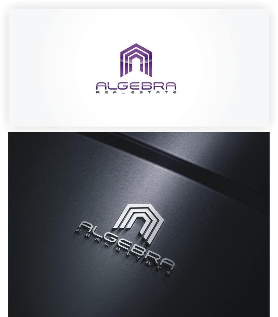 Penyertaan Peraduan #391 untuk Design a Logo for Algebra Real Estate