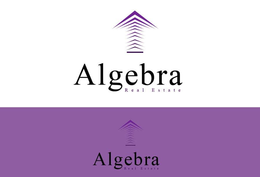 Penyertaan Peraduan #272 untuk Design a Logo for Algebra Real Estate