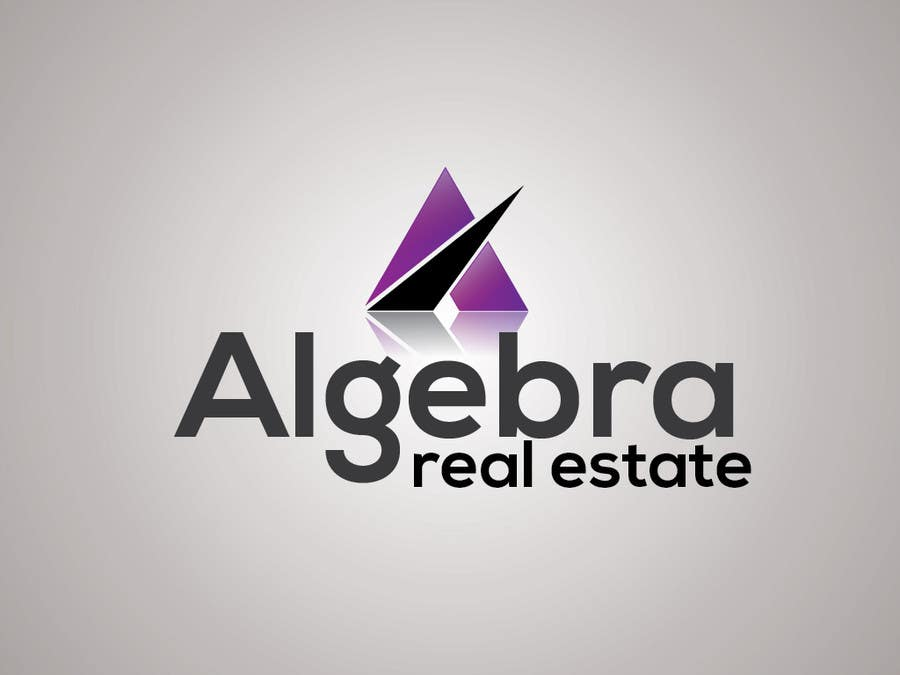 #38 for Design a Logo for Algebra Real Estate by baiticheramzi19