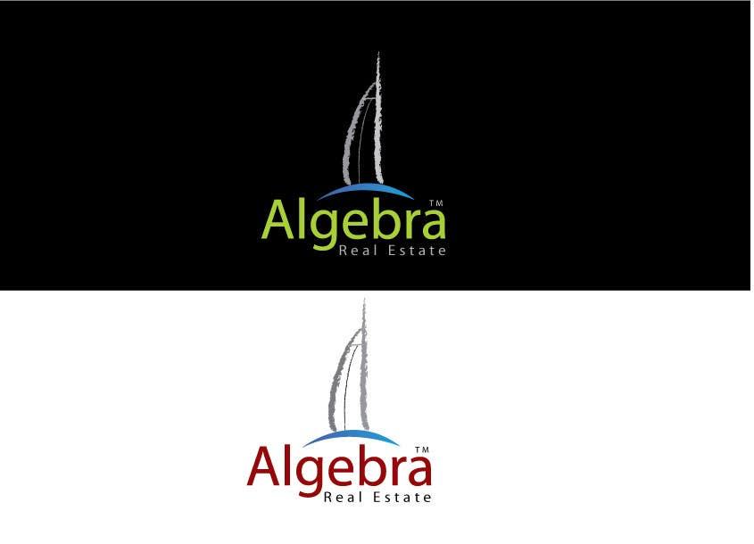 Penyertaan Peraduan #130 untuk Design a Logo for Algebra Real Estate