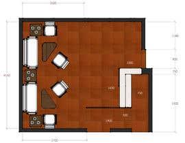 Nro 7 kilpailuun Reception and guest area makeover käyttäjältä zoranaelek