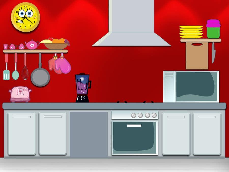 Konkurrenceindlæg #5 for Design an App Mockup for childrens iPad game
