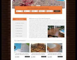 #29 for Design for concrete company by conceptcit