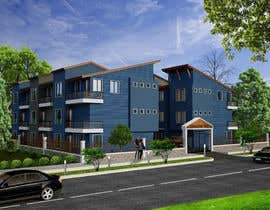 #5 for I need 3D renderings done for a town house complex by archmamun