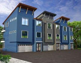 #7 for I need 3D renderings done for a town house complex by archmamun