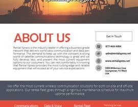 Nro 16 kilpailuun Sales and Informational sheet käyttäjältä biasalles