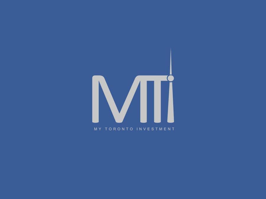 Penyertaan Peraduan #167 untuk Logo Design for My Toronto Investment