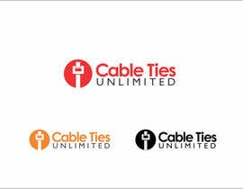 #187 para Design a Logo for Cable Ties Unlimited por rueldecastro