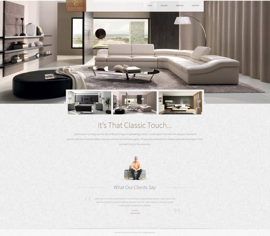 #2 for Build a Website for Remodelling company by tania06