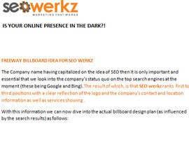 staceyachieng95 tarafından Create the best idea for a freeway billboard for SEO Werkz için no 5