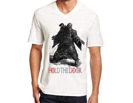 "hamxu tarafından Design a ""Game of Thrones"" Themed T-Shirt - için no 25"