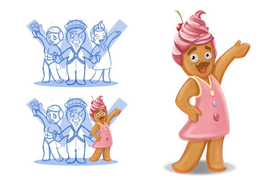 Bài tham dự cuộc thi #28 cho Illustration of Gay Gingerbread Men