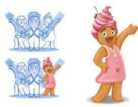 #28 para Illustration of Gay Gingerbread Men por Milos009