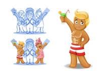 Bài tham dự #35 về Photoshop cho cuộc thi Illustration of Gay Gingerbread Men