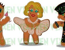 nº 31 pour Illustration of Gay Gingerbread Men par Vixxxen