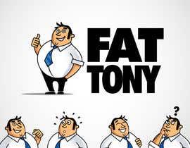 nº 62 pour Fat Tony (logo) par benpics