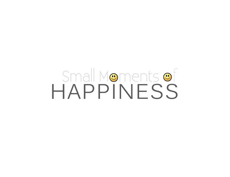 #39 for Design a Logo for Small Moments of Happiness, from Uptitude by ffarukhossan10