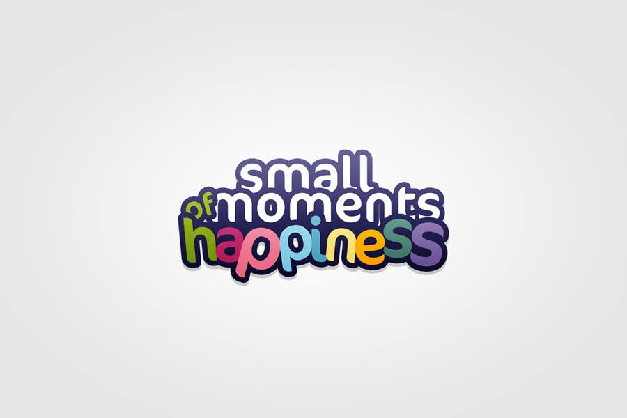 #42 for Design a Logo for Small Moments of Happiness, from Uptitude by kamikira