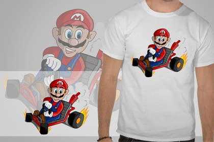 #8 for Draw Super Mario Kart caricature by rogeliobello