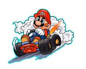 #35 for Draw Super Mario Kart caricature by AvatarFactory