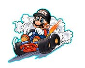 #38 for Draw Super Mario Kart caricature by AvatarFactory