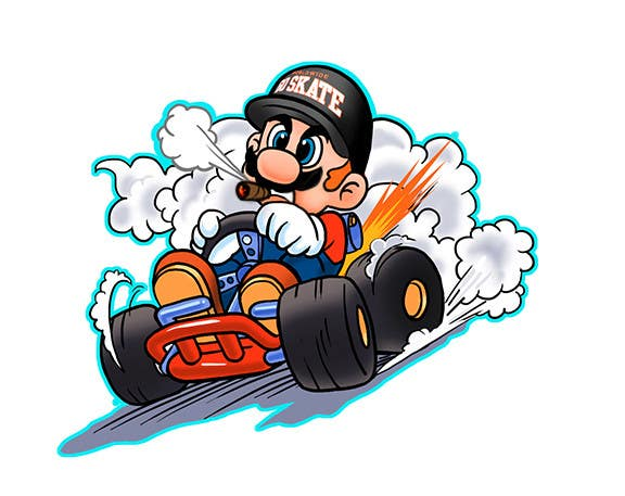 #41 for Draw Super Mario Kart caricature by AvatarFactory