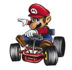 #32 for Draw Super Mario Kart caricature by abrahmatan