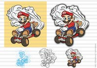 #33 for Draw Super Mario Kart caricature by leninvallejos