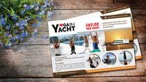 Design Yoga on a Yacht Flyer için Graphic Design41 No.lu Yarışma Girdisi