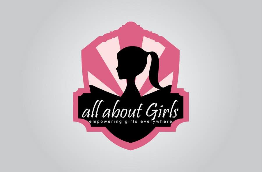 Participación en el concurso Nro.295 para Logo Design for All About Girls