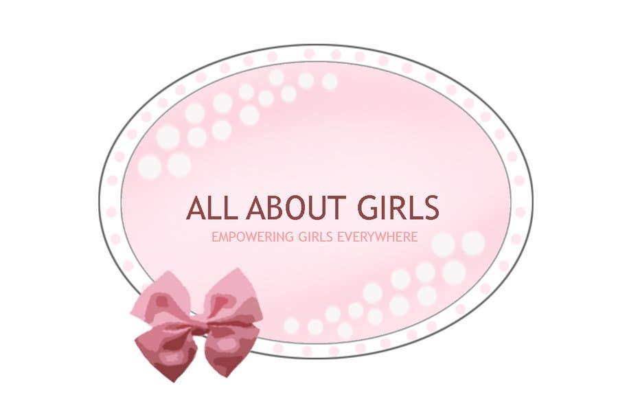 Participación en el concurso Nro.274 para Logo Design for All About Girls