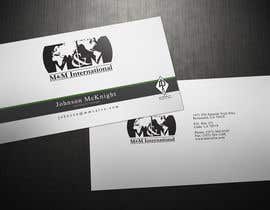 #104 untuk Business Card Design for M&M International oleh Zveki