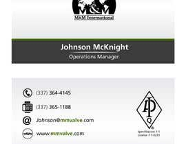 #166 untuk Business Card Design for M&M International oleh pmfeijoo