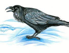#27 cho Illustration of Raven in Snow bởi Julia73
