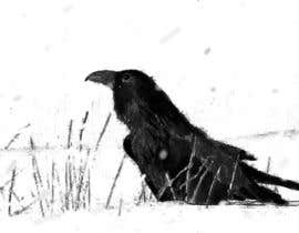 #55 for Illustration of Raven in Snow by eloren