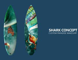 Agshana tarafından surfboard graphics için no 34