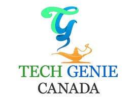 #33 para Design a Logo for Tech Genie Canada por sabeshkumar