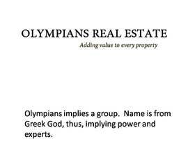 #10 untuk Write a tag line/slogan for a Real Estate Team oleh Othello1