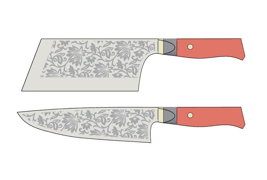 Penyertaan Peraduan #                                        13                                      untuk                                         I need a Grafik Design to etch on my Kickstarter Knife Series