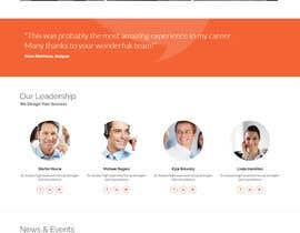 Nro 12 kilpailuun Design a Website Concept/Mockup for a service industry business website käyttäjältä PhoenixGeek